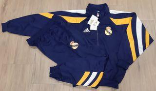 Chándal Real Madrid 98/99 Adidas nuevo n/g 168