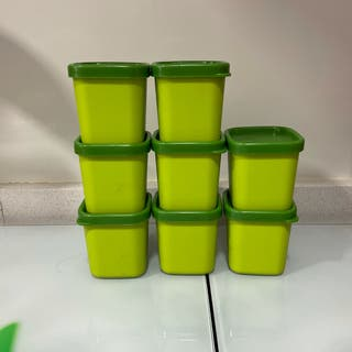 8 Vasos flaneros tupperware microvapor