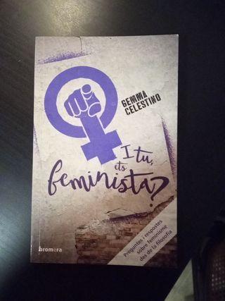"""libro """"i tu, ets feminista?"""
