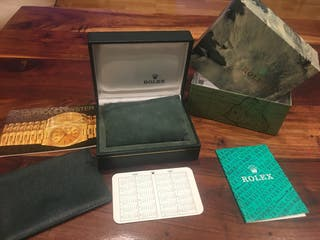 Caja Rolex
