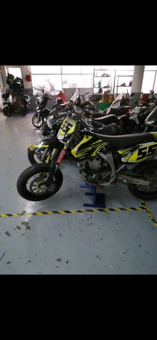 Yamaha yzf 450 súper motard