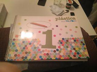 Libro plástica. 1 primaria