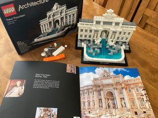 Lego Architecture Fountain Trevi