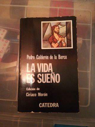 """Libro """"La vida es un sueño"""" de Pedro Calderón"""