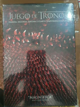 DVD - Juego de Tronos ( 4 Primeras Temporadas )