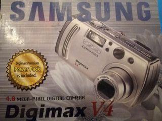 Cámara Samsung DigiMax V4