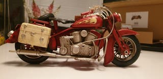 L&P metal Art Tin Indian Chief Style Motorbike