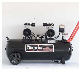 Calderin/tanque de aire 80 litros cevik prosilent.