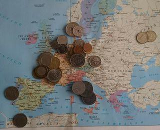 Monedas antiguas - 0,50€ la unidad, 15€ todas