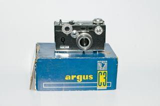 ARGUS C3. Regalo caja y visor. -CÁMARA VINTAGE-