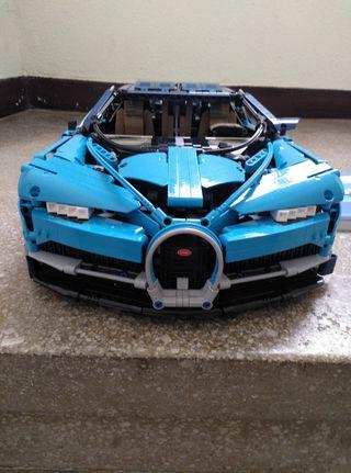 Bugatti chiron,compatible con lego4.031 piezas