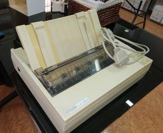 Impresora matricial.