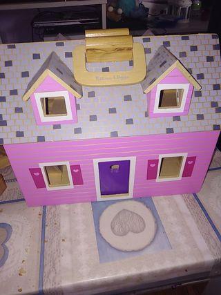 Lote Casa madera juguete Melissa y Doug