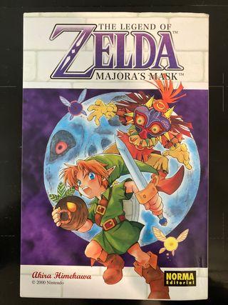 Zelda Majora's Mask (manga lectura japonesa)