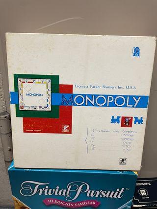 Monopoly antiguo de los años 70