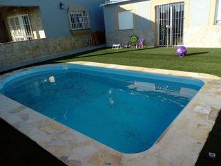 Chalest con piscina