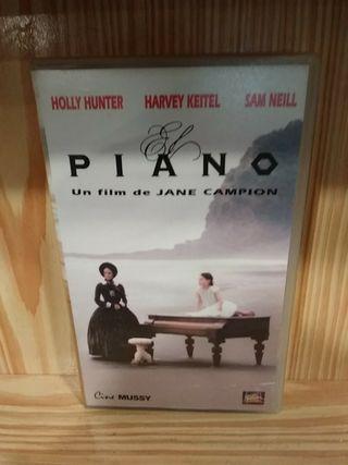 VHS El piano Jane Campion
