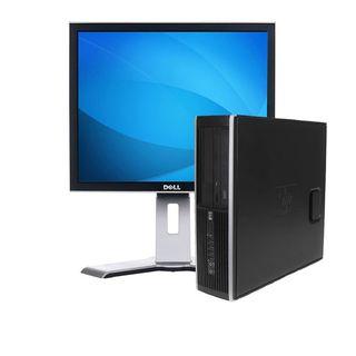 """Ordenador Y Pantalla HP 8100 i5  4GB  250HD  17"""""""