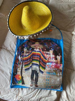 Disfraz niño mejicano
