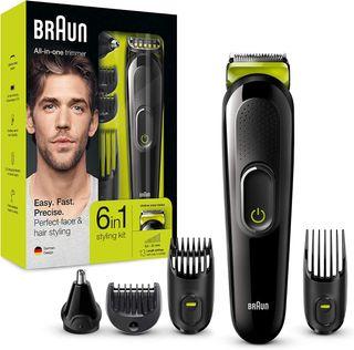 Afeitadora Braun MGK3021