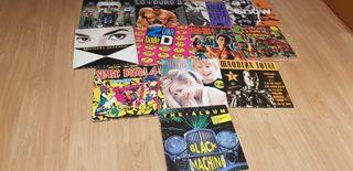 Lote de discos.