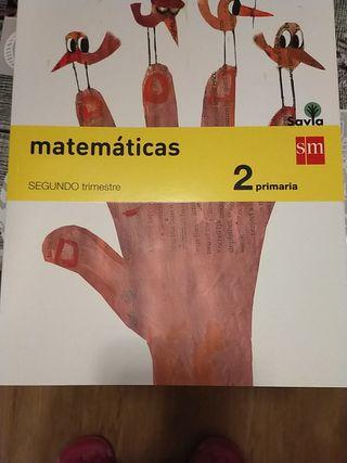 Libro matemáticas 2 primaria sm