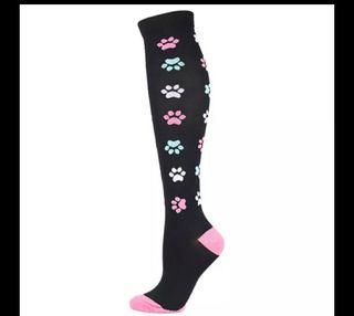 calcetín de compresion
