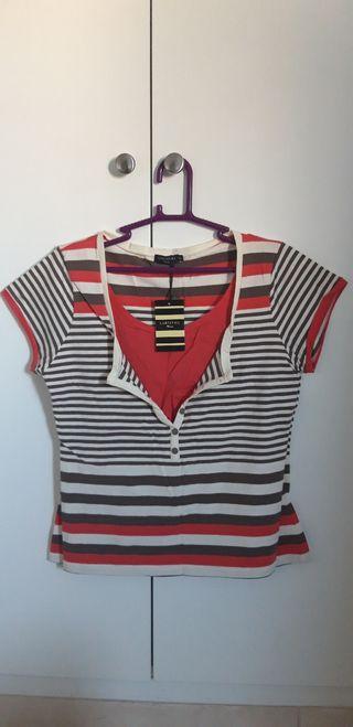 Ropa mujer. Camiseta de Cortefiel