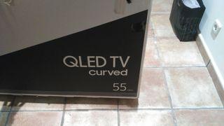 Pantalla televisión 55'' Samsung Q7c Curved