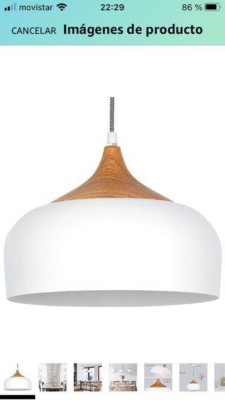 Lámpara cocina salón