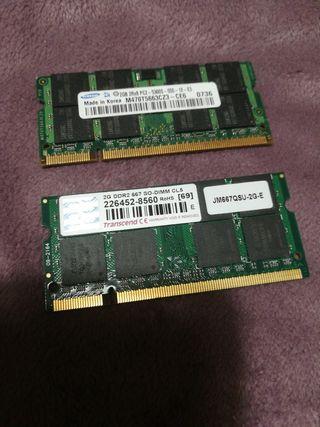 RAM 2GB x 2