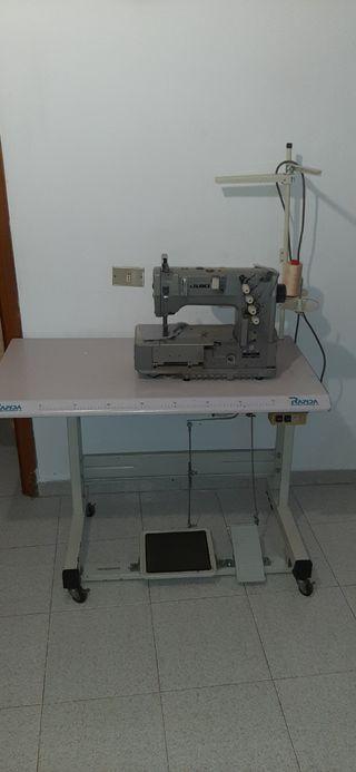 máquina de coser industrial recubridora
