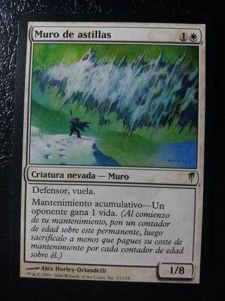 cartas magic muro de astillas