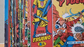 Comics Capitán Trueno.