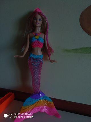 Muñeca Barbie Sirena.