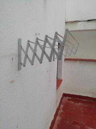 tendedero de pared plegable