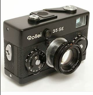 Rollei 35 SE black