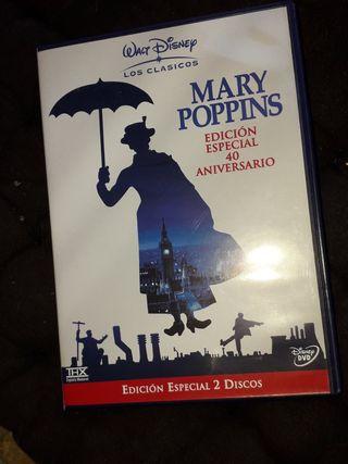 PELÍCULA MARY POPPINS DVD