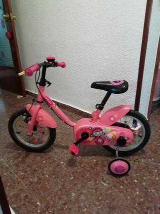 """bicicleta infantil 14"""""""