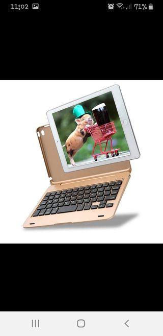 """Carcasa de teclado Bluetooth iPad 9,7"""""""