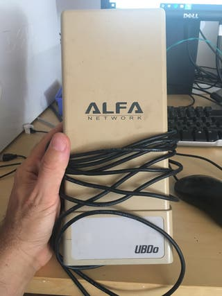 Antena de largo alcance wi fi modelo alfa
