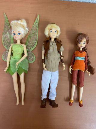 Muñecos Campanilla