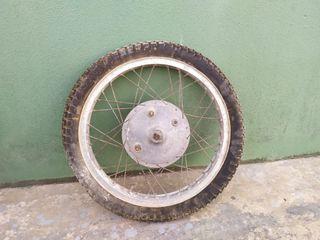 rueda antigua montesa