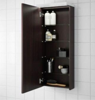 Armario de pared para baño
