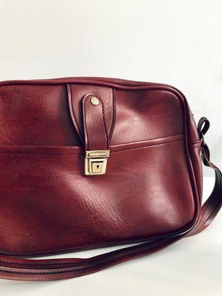Bolso maletín vintage