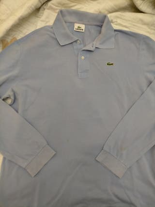 Polo Lacoste talla XL manga larga