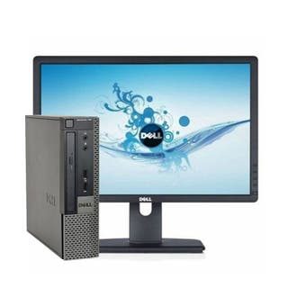 "PC Dell 790 I5   4GB   250 HD   W10   pantalla 19"""