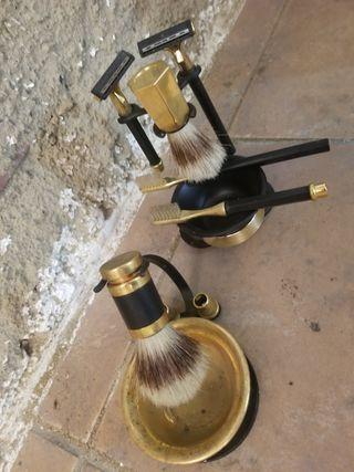 Antiguo set de barbero wikilson