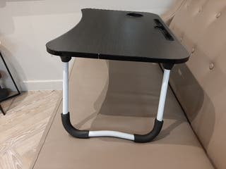 Folding bed laptop table
