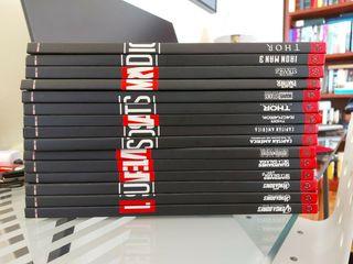Libros explicatorios de Marvel con DVD de la peli